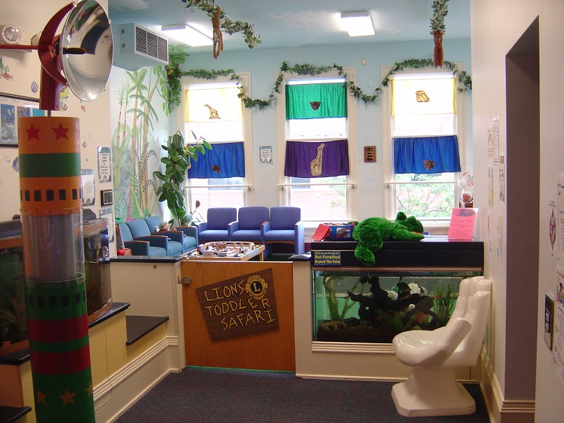 Above & Beyond Children's Museum Toddler Area Donation
