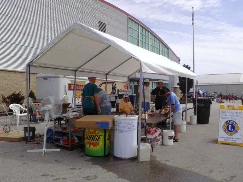 Lions Food Stand