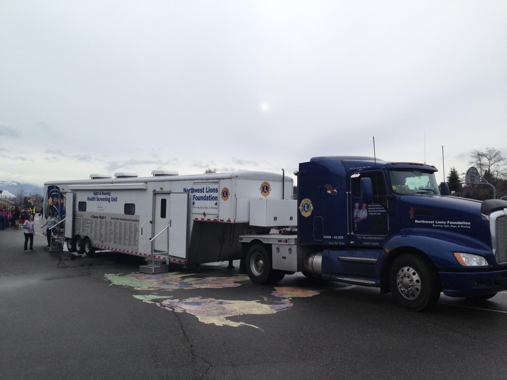 Vision and Hearing Screening Van:
