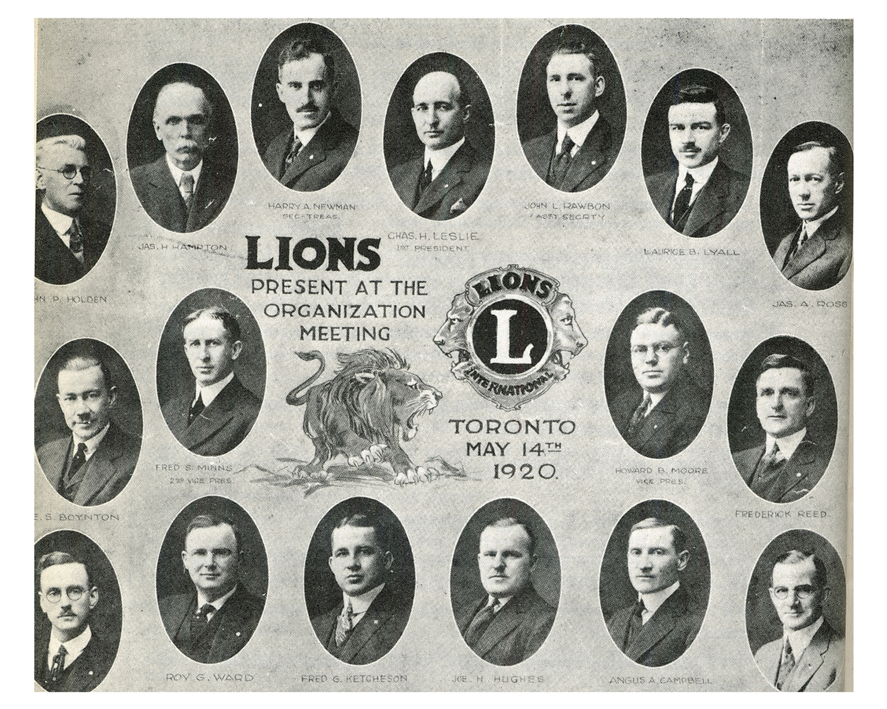 Toronto Central Lions organization meetng