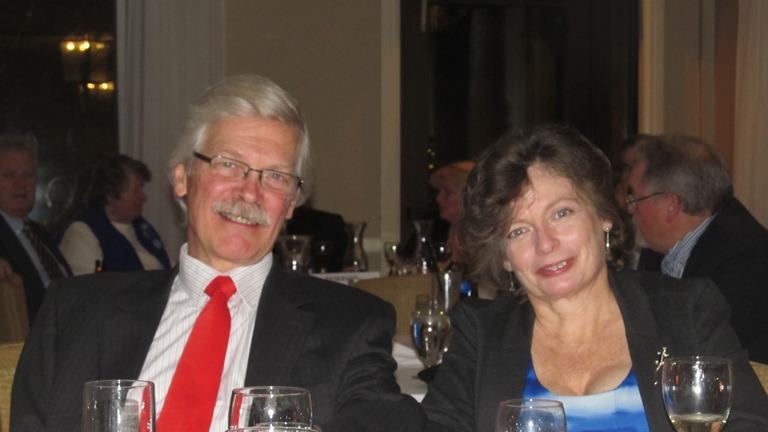 Jim Libbey and Jane