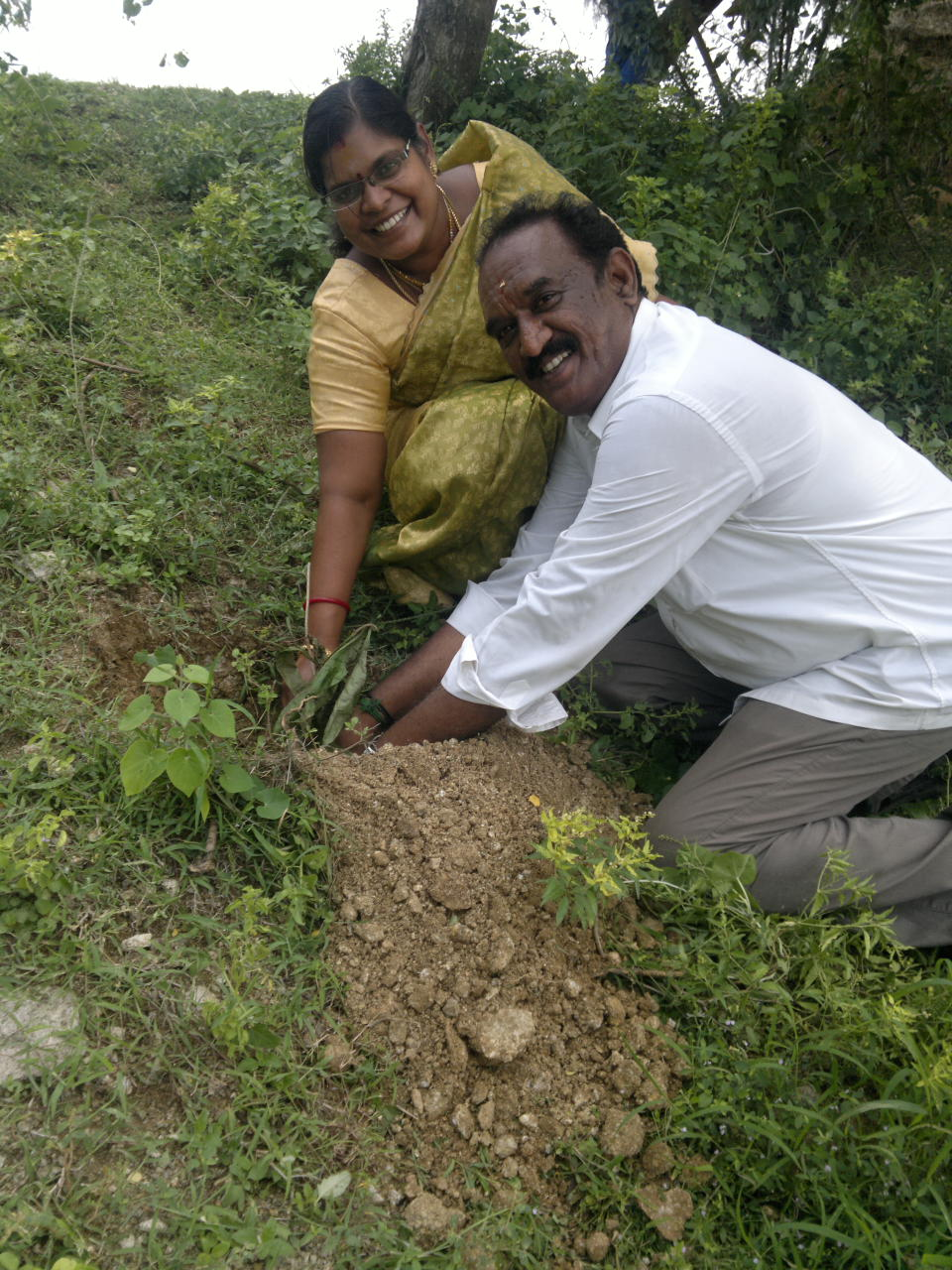 TREE PLANTATION AT KAVADUR