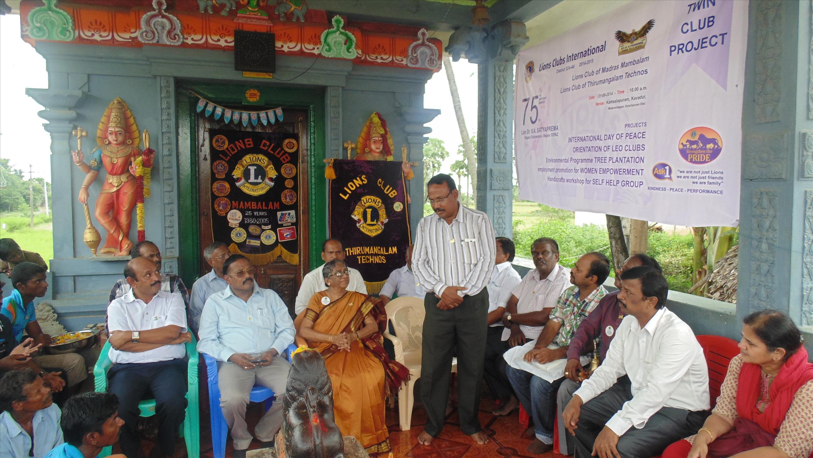 Self Help Group - Project at KAVADUR, Chennai