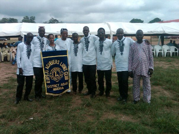 Members after parade @ the National Convention in Akure