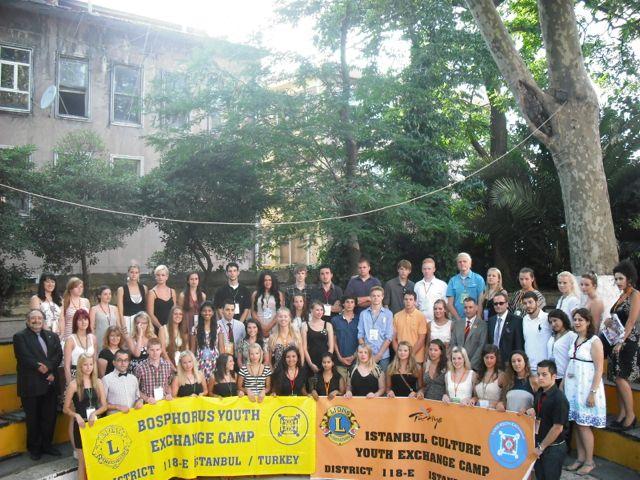 Lions Club nuorisovaihto Istanbulissa kesällä 2011