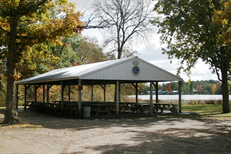 The Amery Lions Shelter at North Park