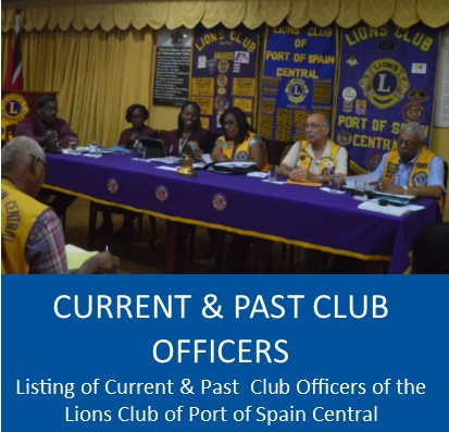 Current and Past Club Officers