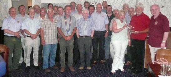 Morpeth Lions members at 2013 AGM