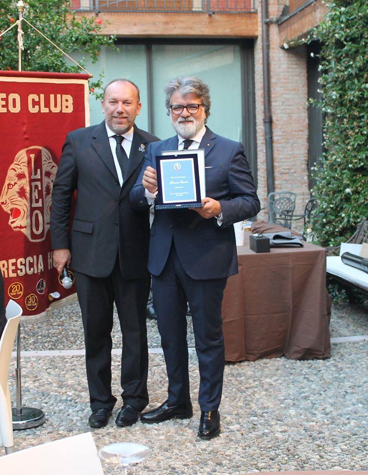 Guido Santi passa la guida del club a Francesco Caretta