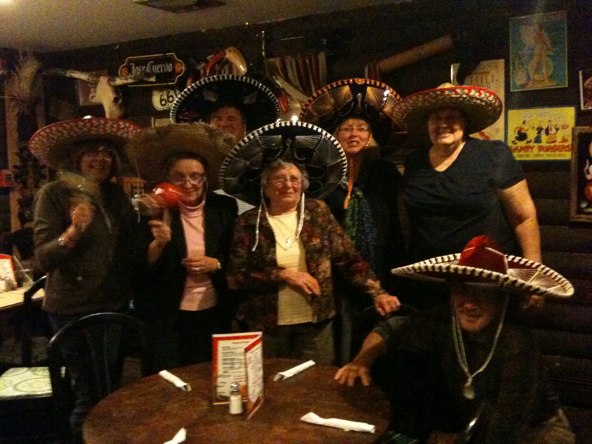 Club members have fun at their Loco Perro meeting