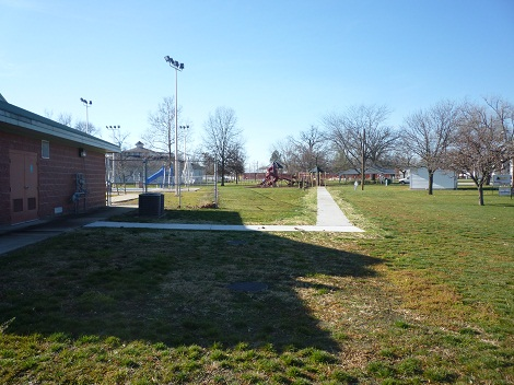The Lions Walk from the Swimming Pool Building to the Playground in Forest Park has been completed.