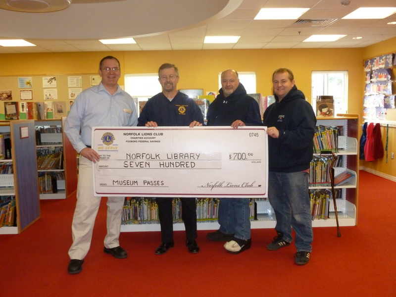 Donation Norfolk library -Children's Museum Passes
