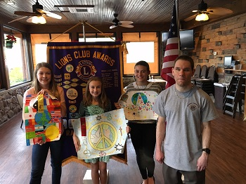 Peace Poster Contest District Winners, May 2017