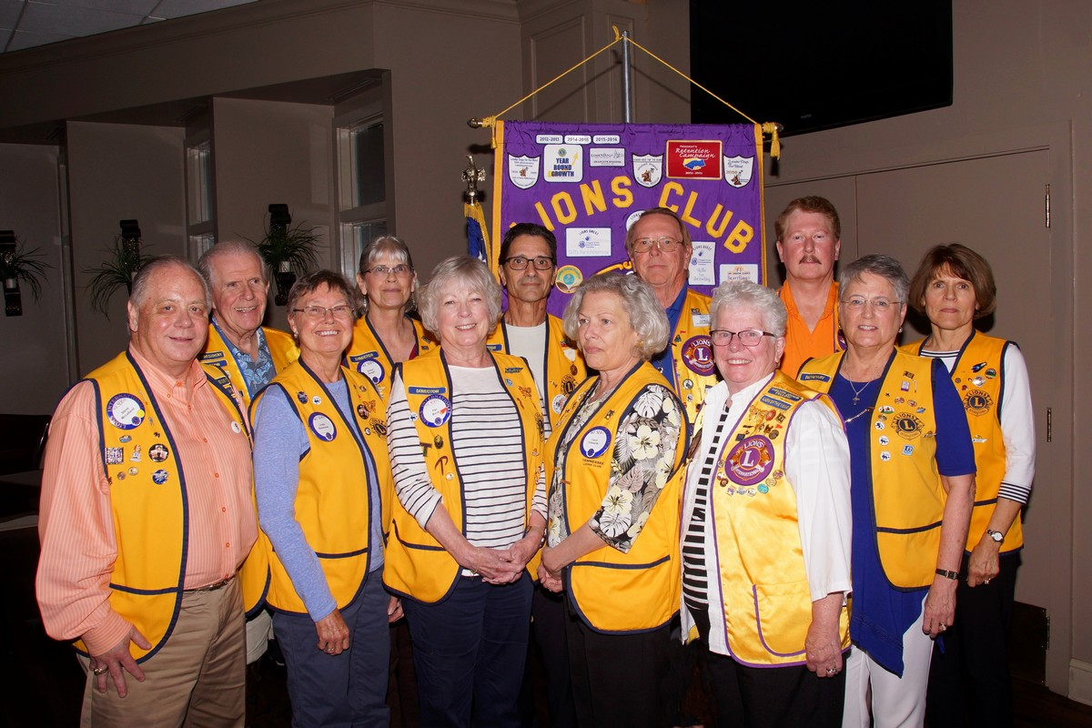 Fairfield Glade Lions Club Officers 2019-20