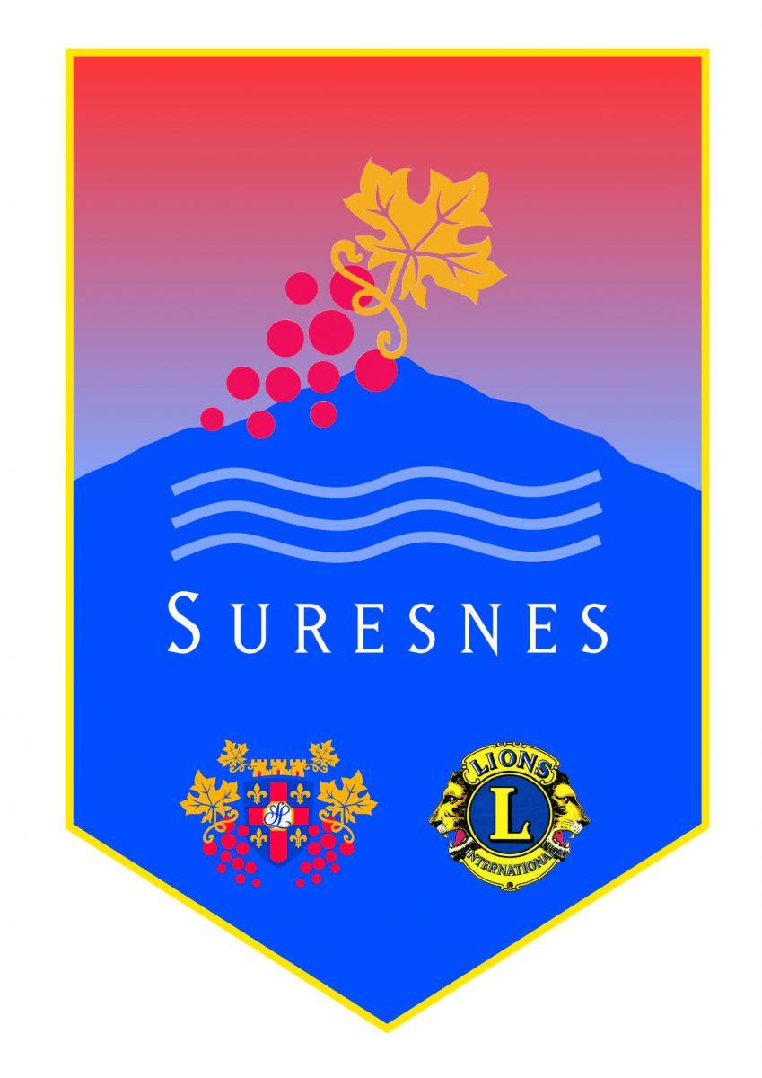 Fanion du Lions club de Suresnes