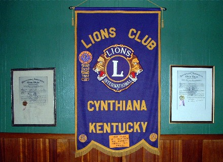 Lions Club Banner