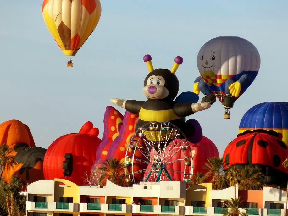 2014 Havasu Balloon Festival and Fair