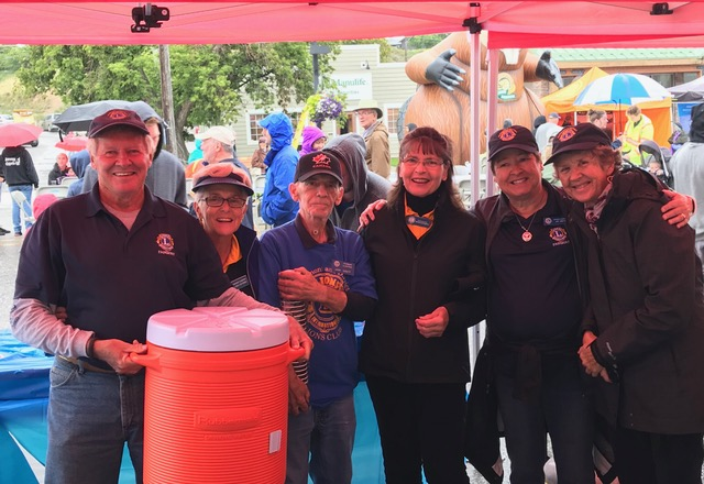 Fairmont Lions Volunteers at Valley Appreciation in Invermere