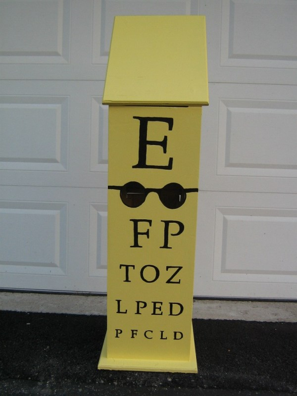 Eyeglass Collection Box
