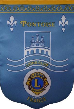 Fanion du Lions Club de Pontoise