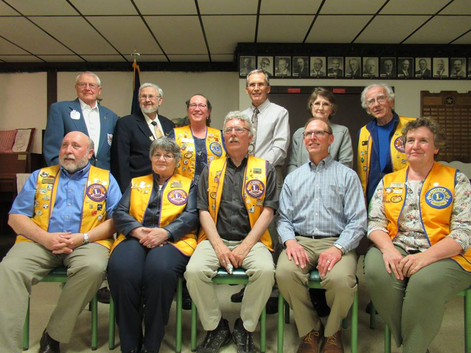 Red Wing Lions Club 2018-2019 Officers