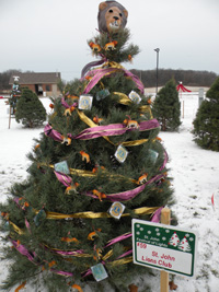 Lions Christmas Tree in the Park