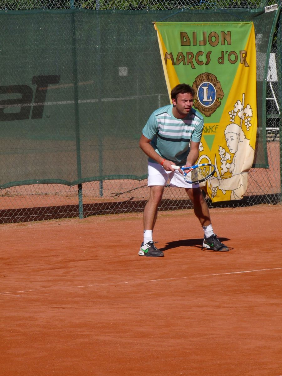 Un joueur lors du tournois 2010