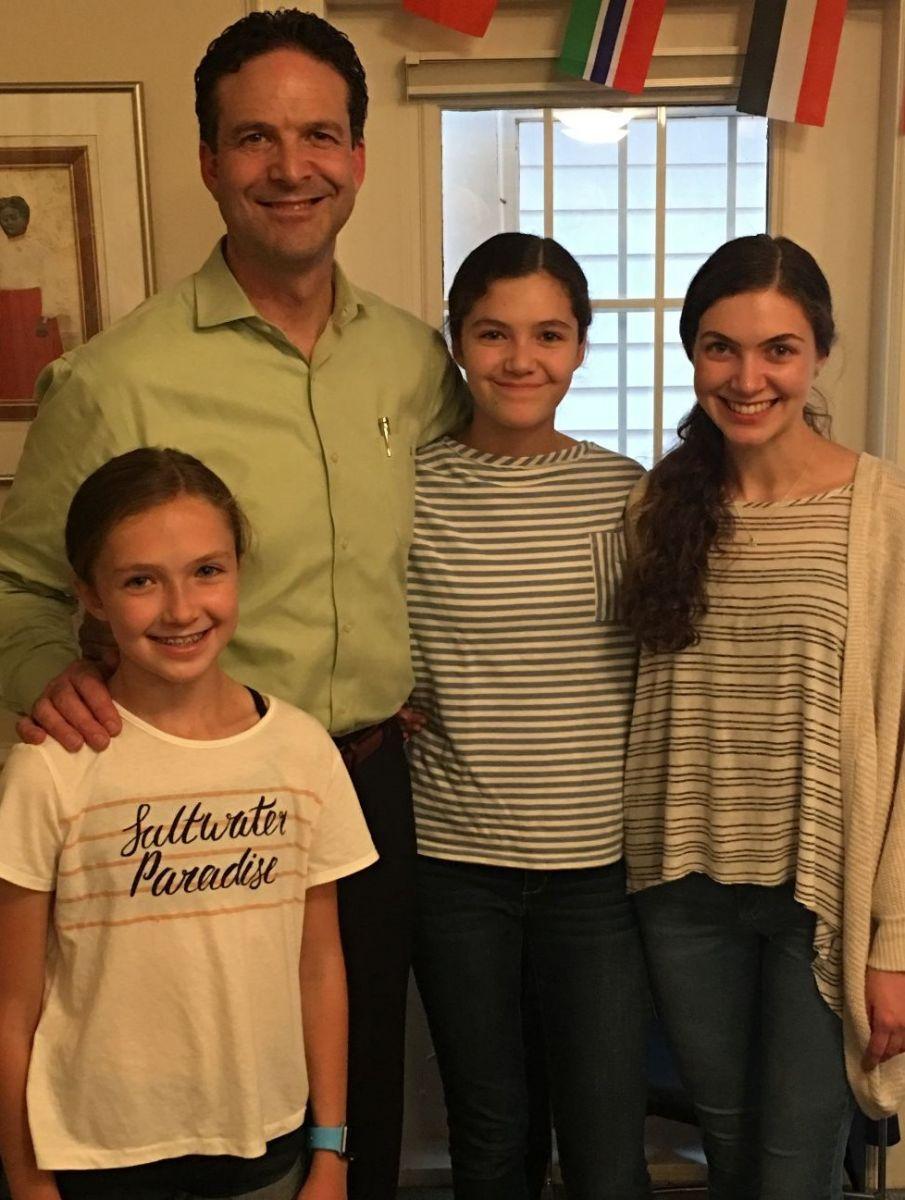 Eric, Annabelle, Abby and Ally