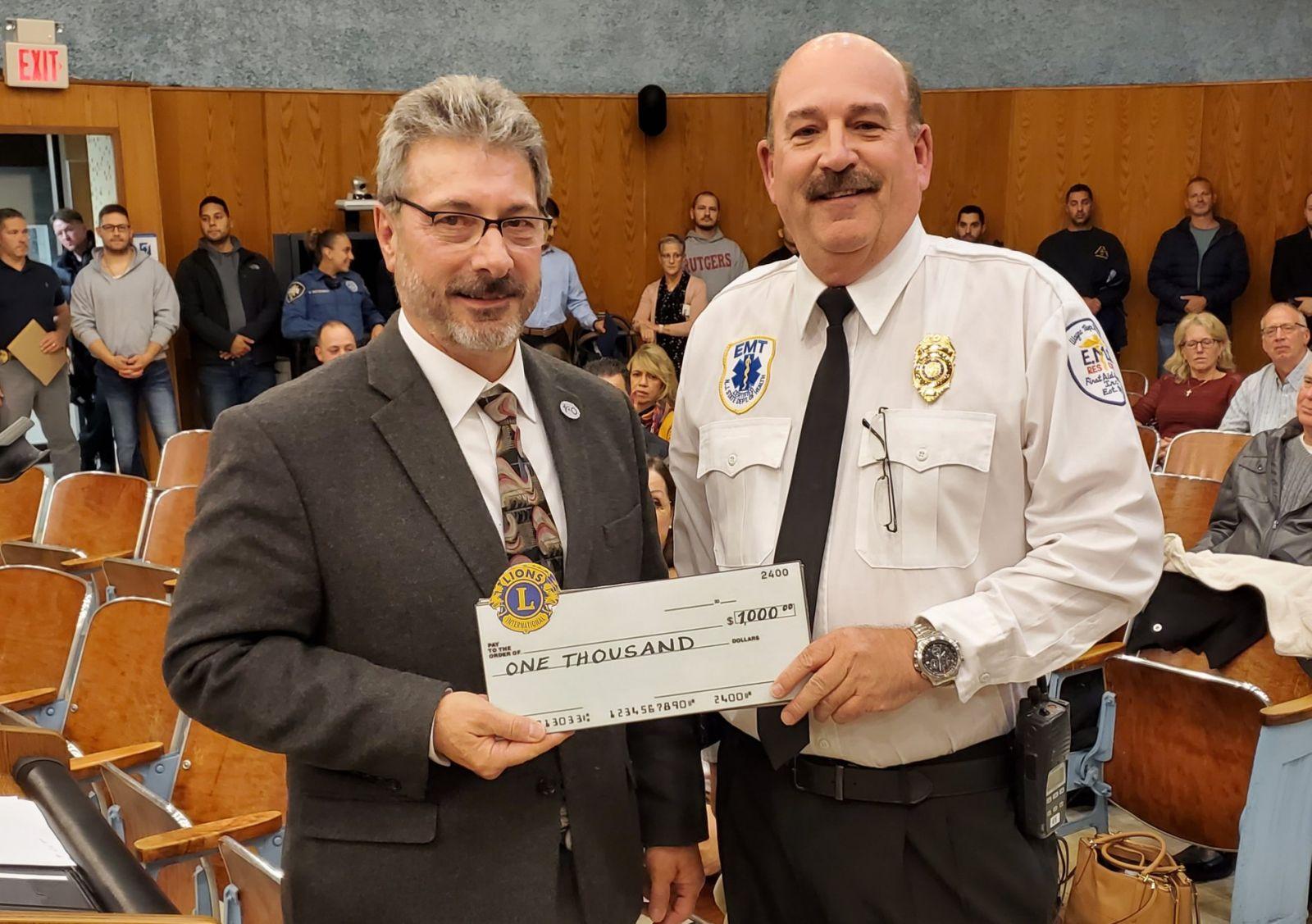 Bob Coe, Wayne Township Volunteer First Aid Squad — at Wayne Township NJ.