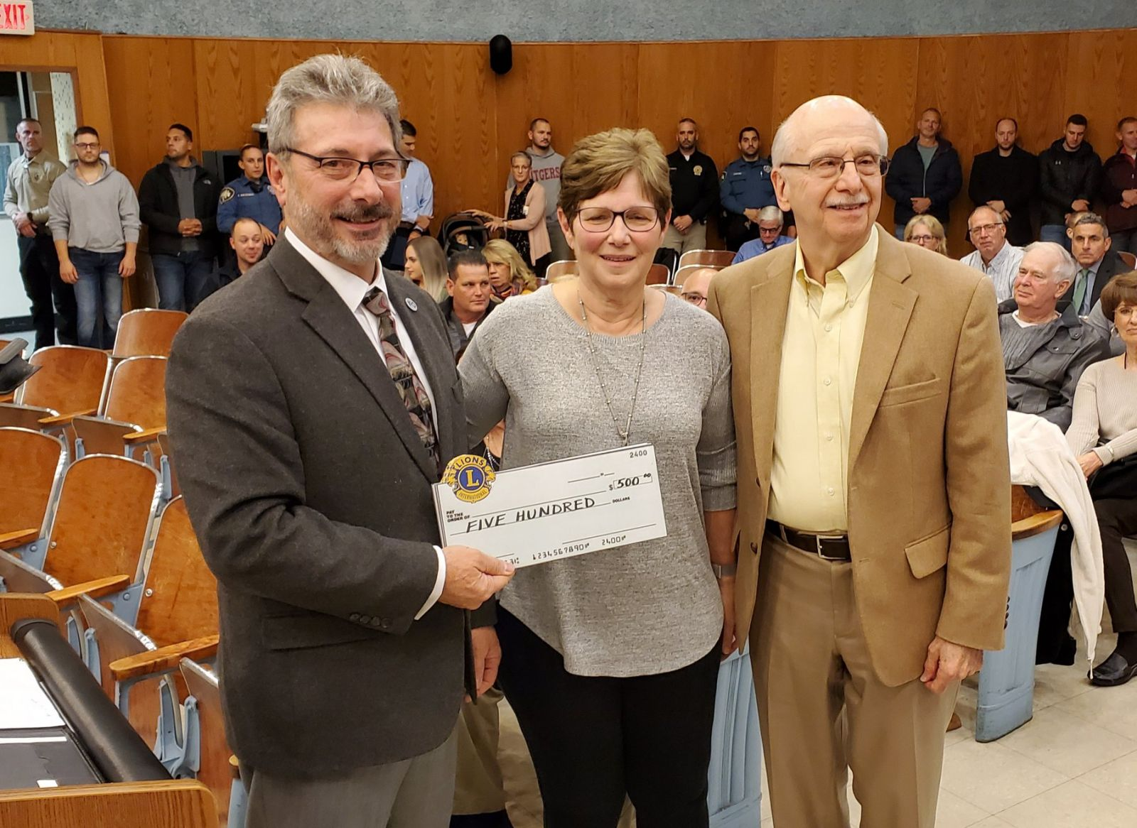 Barbara Cohen and Herb Schuman, Wayne Interfaith Network - Food Bank — with Wayne Interfaith Network at Wayne Township NJ.