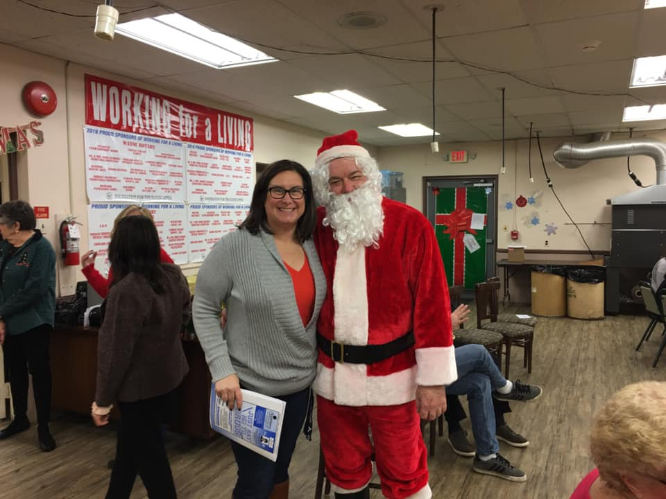 Wayne Lions Holiday Party - Santa
