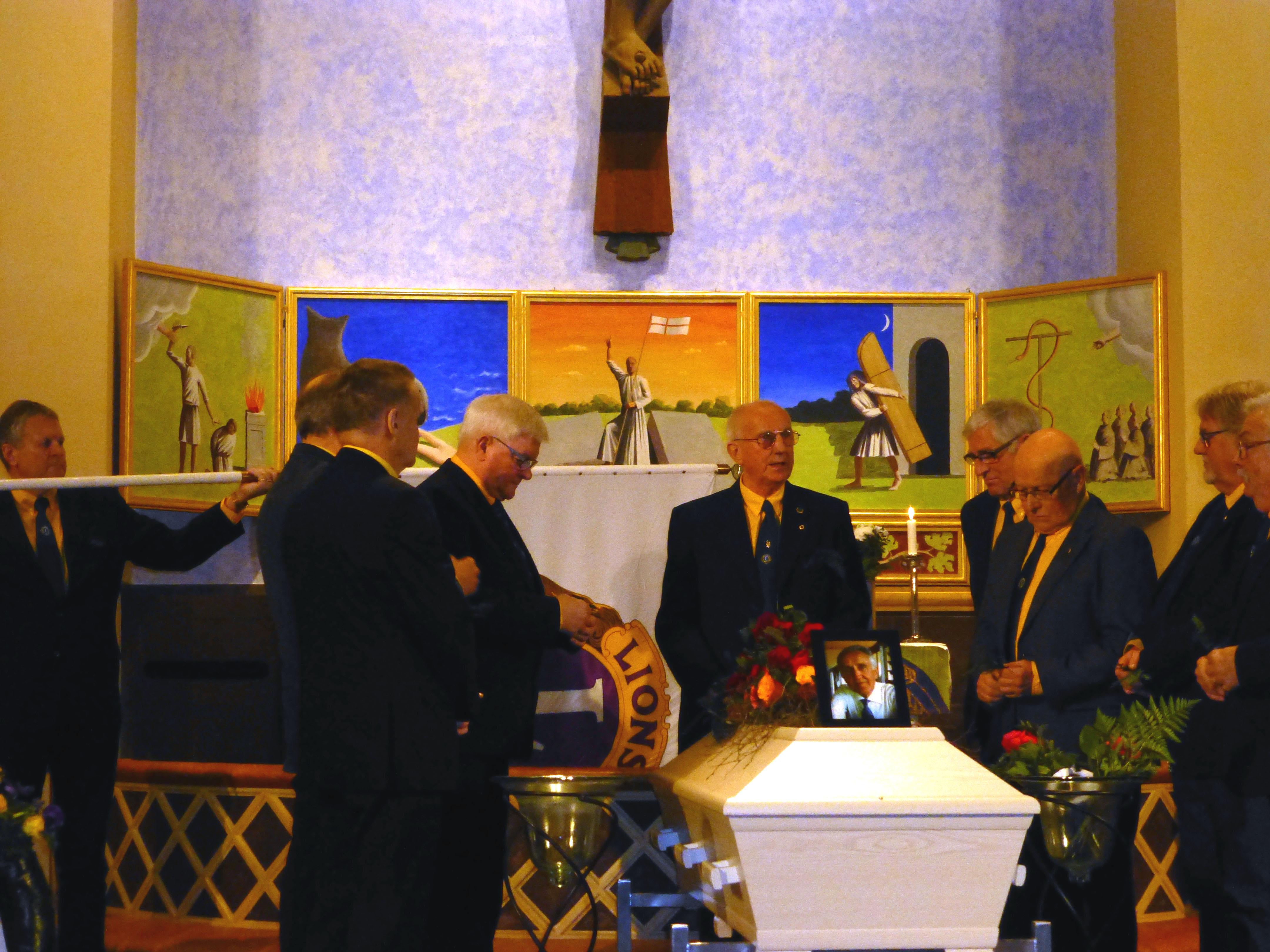 Bo-Gunnars begravning