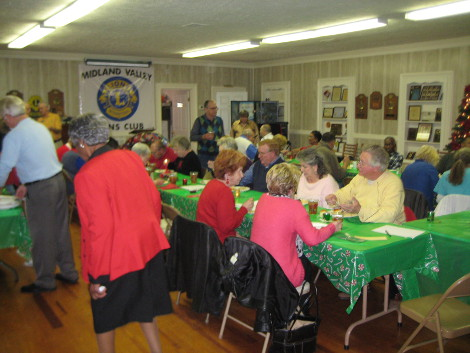 Midland Valley Christmas Party 2013