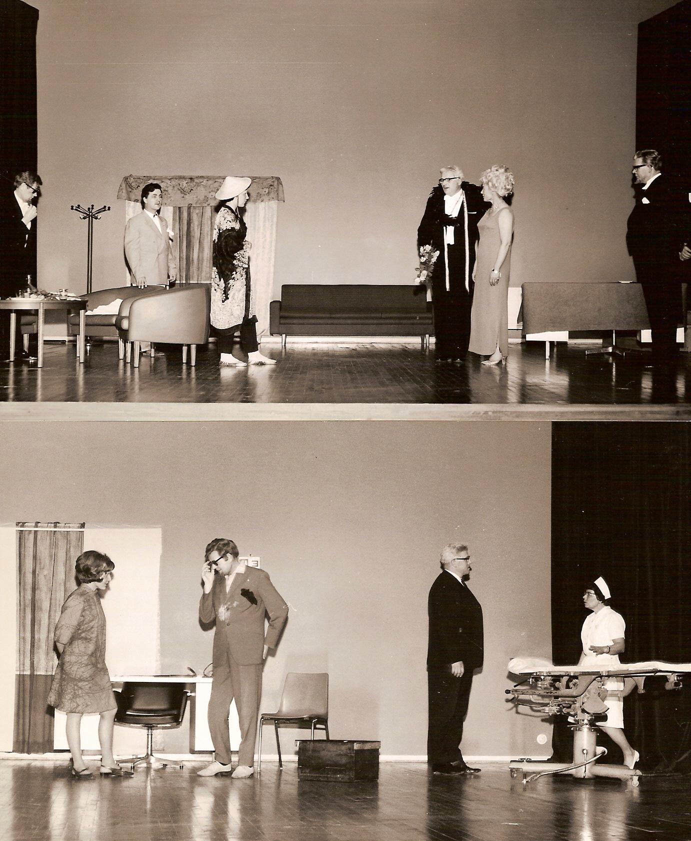 Näytelmästä Onnellinen Sakari