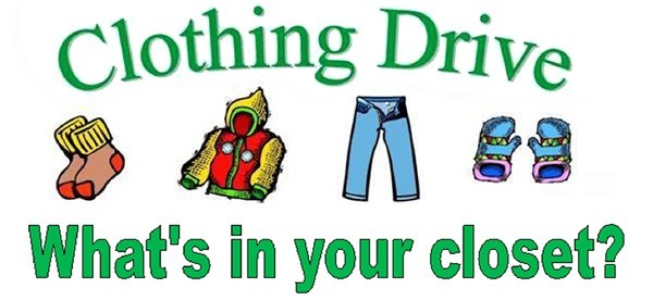 Clothing Drive Image