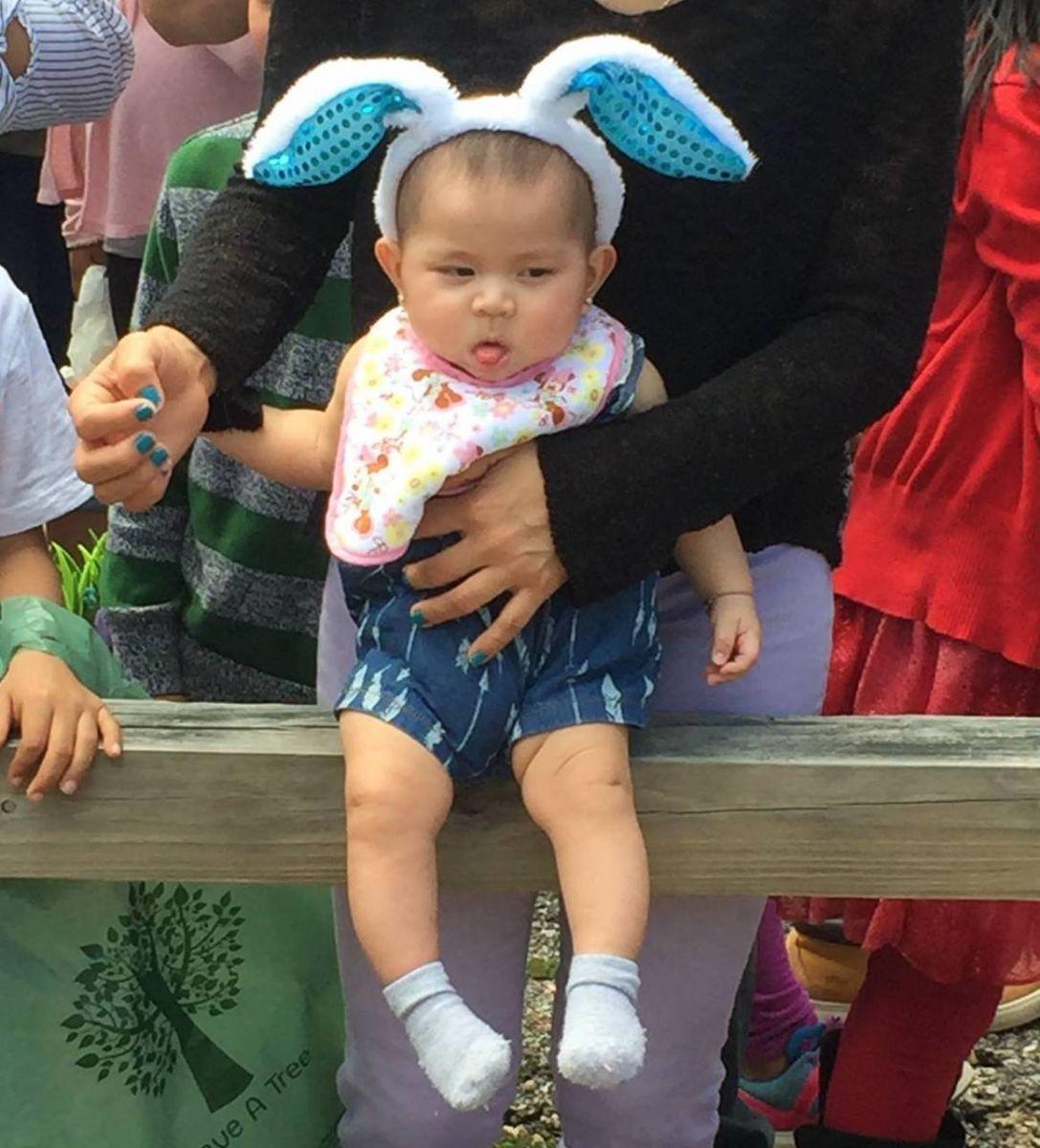 Easter Egg Hunt Baby