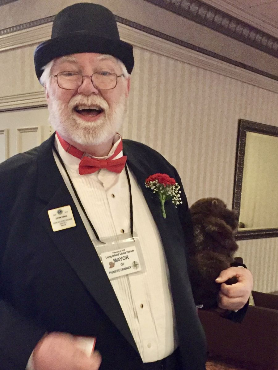 Lion Steve Espach as Mayor Green at LILF 2019