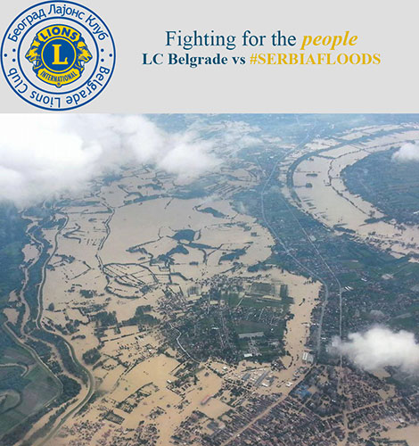 Lions Club Belgrade Fighting Serbian Floods