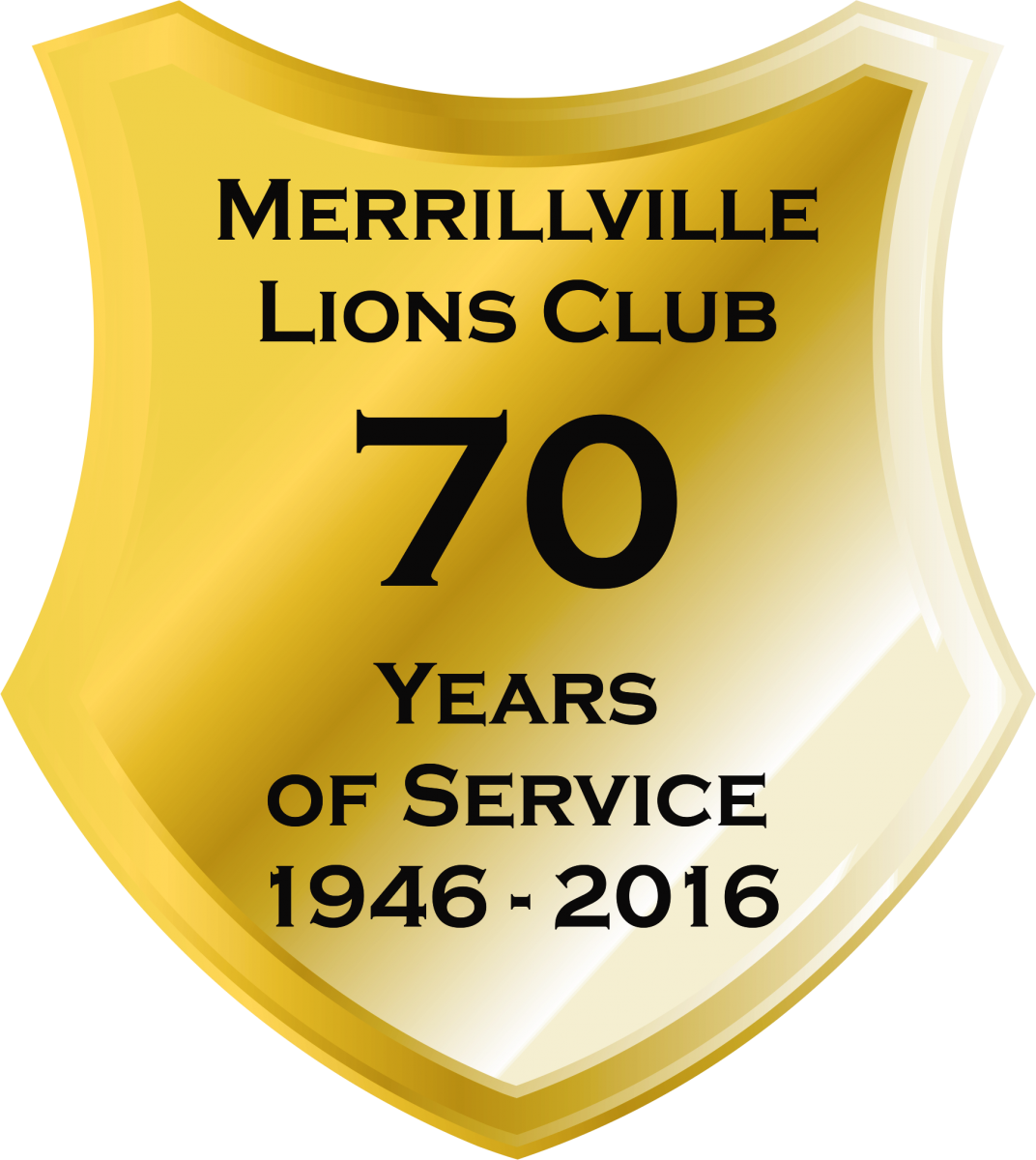 merrillville Lions 70 Years of Service
