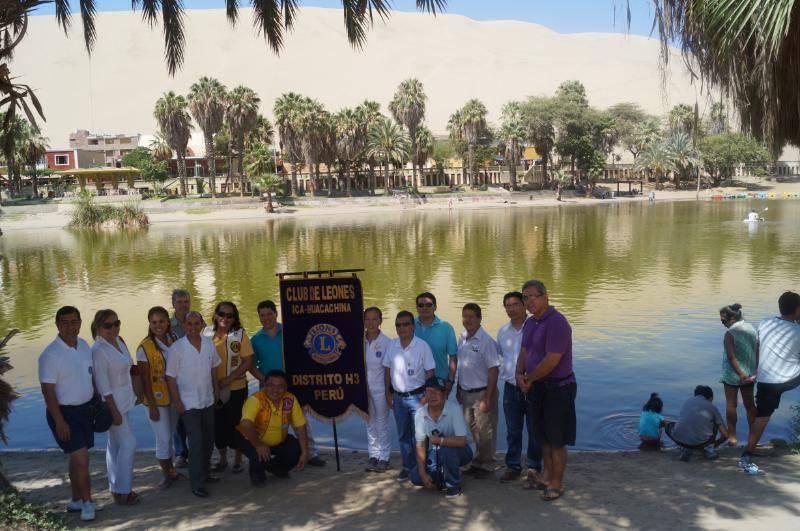 Club de Leones Ica Huacachina.Socios fundadores