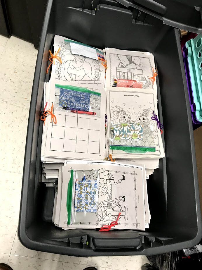 Busy Book Activity Packets
