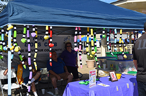 Ferris, TX Lion's Club Booth at Pioneer Day 2016