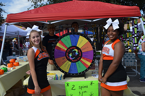 2016 Pioneer Day Celebration - Ferris Lion's Club Booth - Spin to Win!