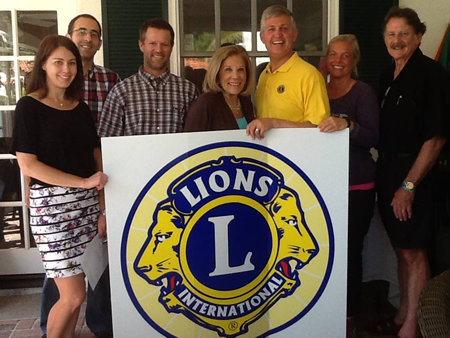 Live Well San Diego Lions Club Charter Board Members