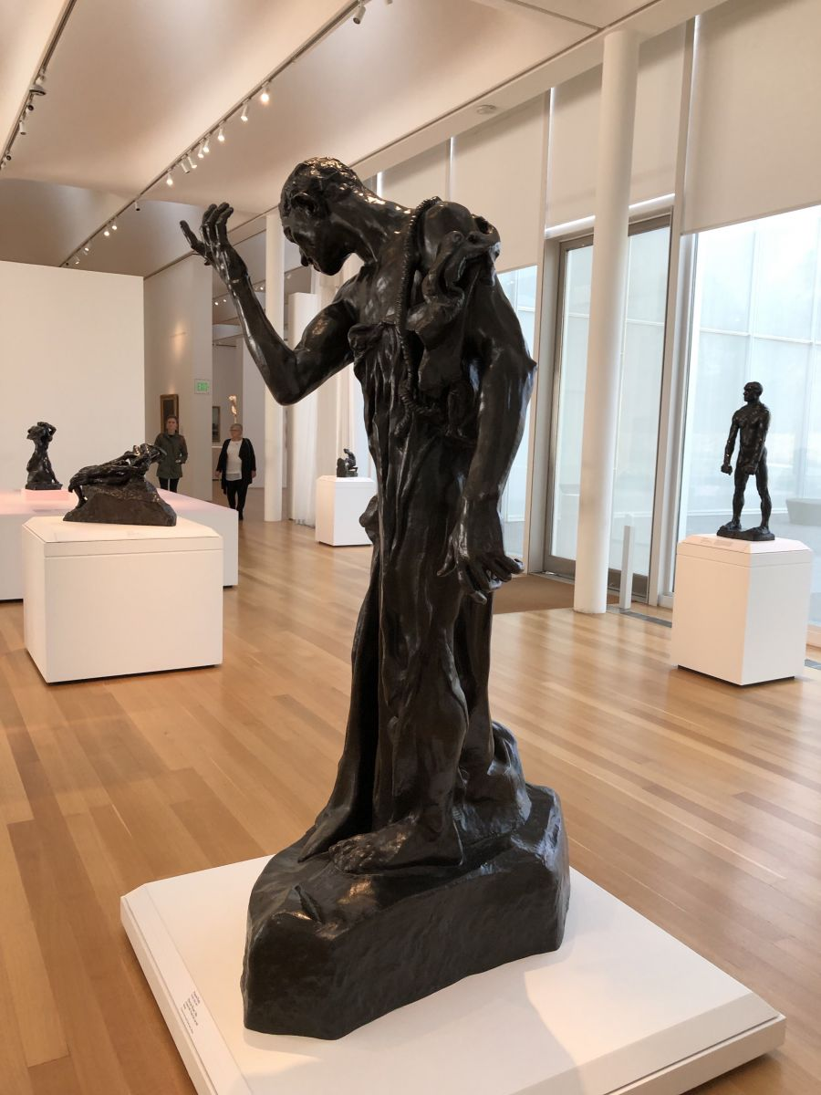 Rodin Bronze Statue