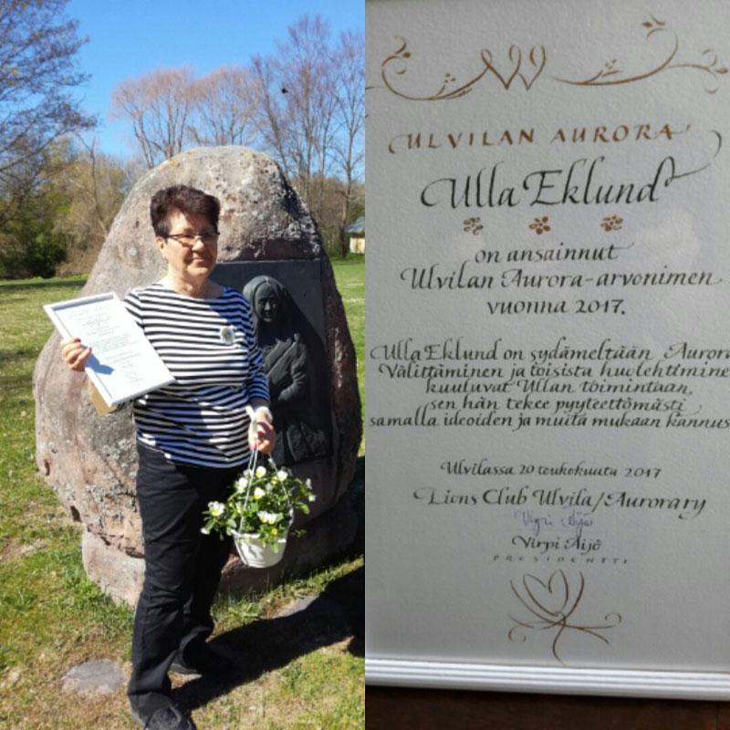 Ulvilan Aurora 2017