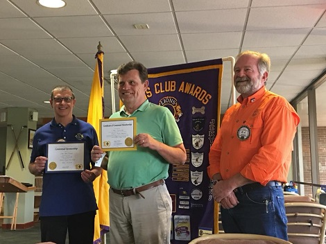 Tom Schuyler inducted in club on 17 Apr 2018. Sponsor is Peter Dillon.
