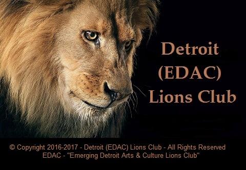Detroit (EDAC) Lions Club - 2016 - 2017 LOGO