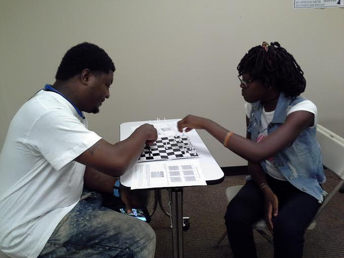 Detroit (EDAC) ARTS & CULTURE PROJECT - CHESS - at L.E.E.P. - Arise Detroit Day!