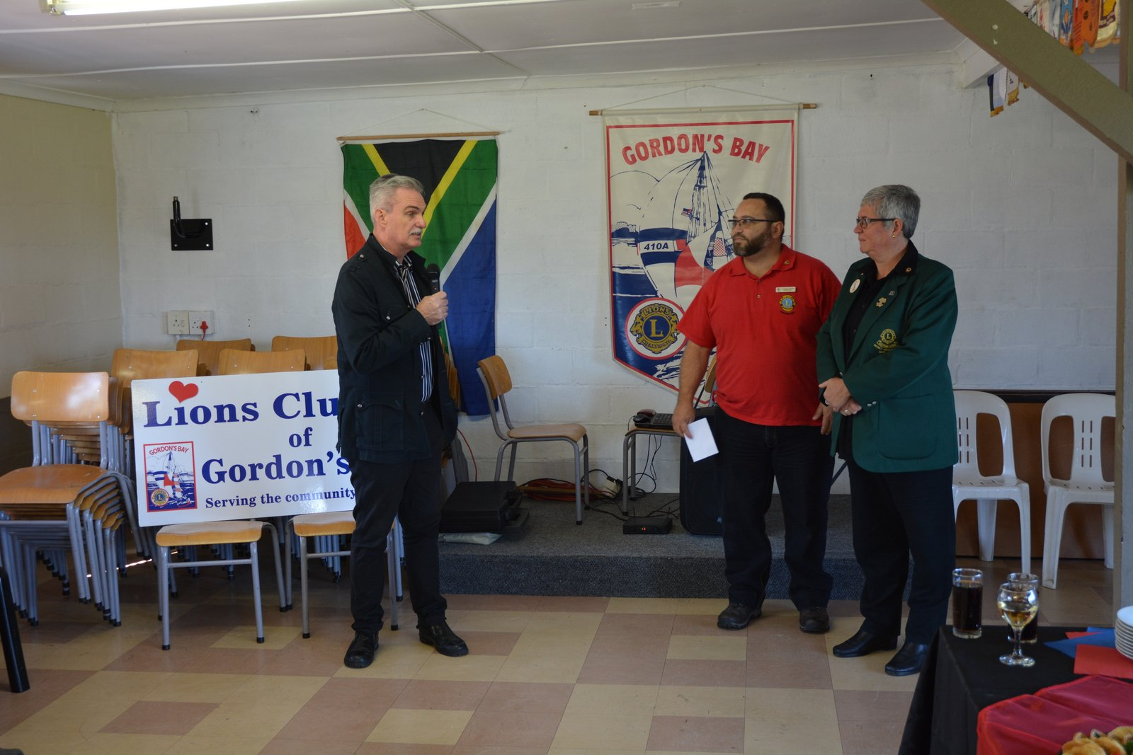 Councillor Johan MIddleton, Grant Jonathan, Geila Wills